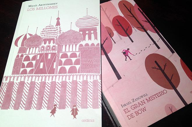 Dos libros de Ardicia