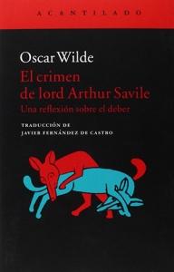 Arthur Savile - Oscar Wilde